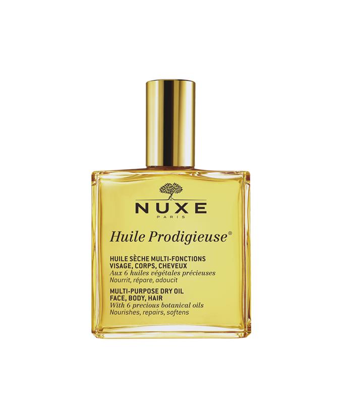 Nuxe Huile Prodigieuse Rich, Ξηρό Ενυδατικό Λάδι για Πρόσωπο, Σώμα & Μαλλιά για Ξηρές Επιδερμίδες 100ml