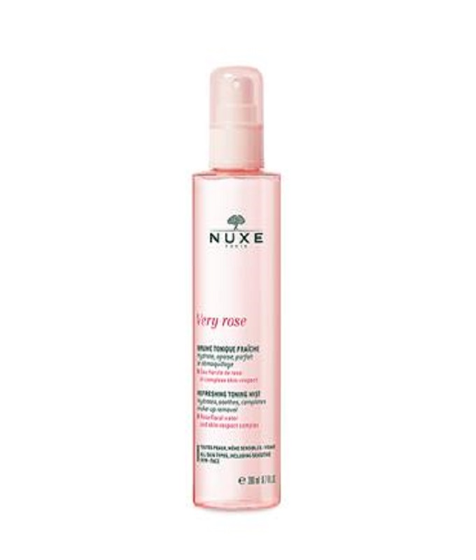 Nuxe Very Rose Creamy Make-up Remover Milk Γαλάκτωμα Ντεμακιγιάζ για Πρόσωπο & Μάτια, 200ml