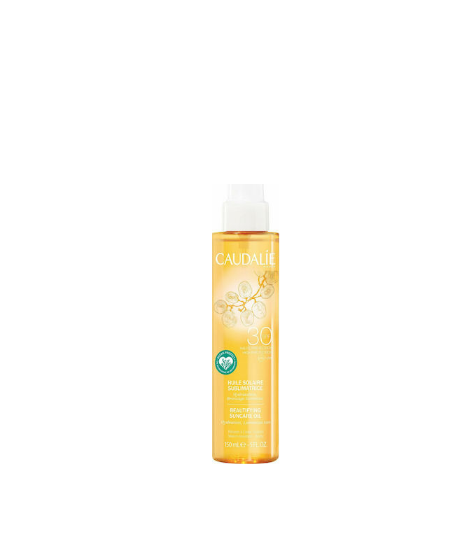 Caudalie Beautifying Suncare Oil SPF30 Αντηλιακό Λάδι Σώματος 150ml