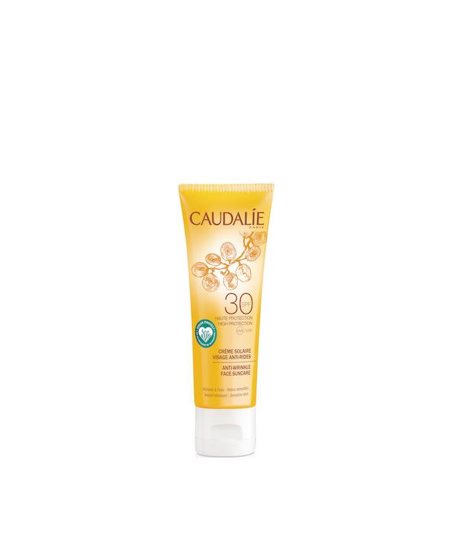 Caudalie Anti-Wrinkle Face Suncare Spf30 Αντηλιακή Αντιγηραντική Κρέμα Προσώπου Υψηλής Προστασίας 50ml