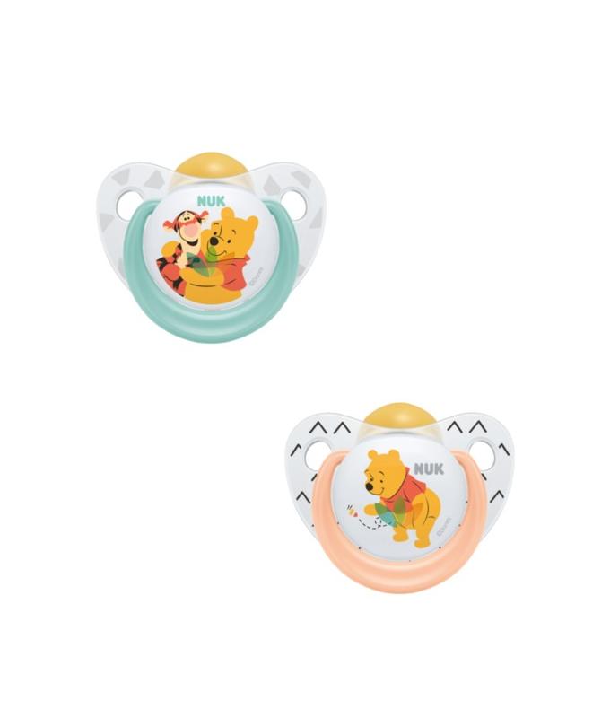 NUK Trendline Disney Winnie the Pooh Πιπίλα Καουτσουκ 6-18m 1τμχ