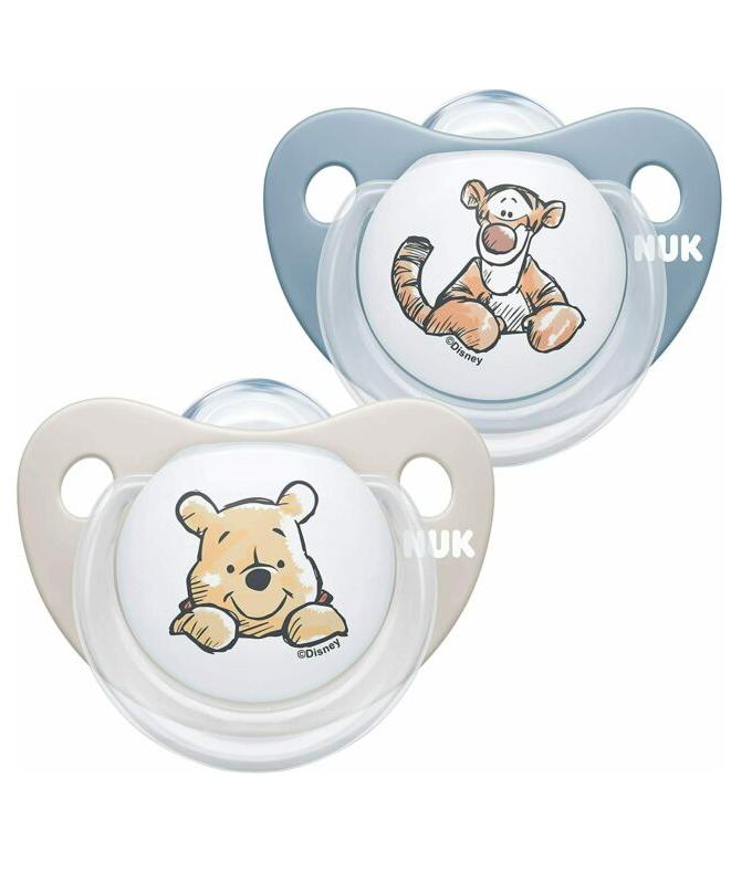 Nuk Trendline Disney Winnie the Pooh Πιπίλα Σιλικόνης 0-6m 1τμχ