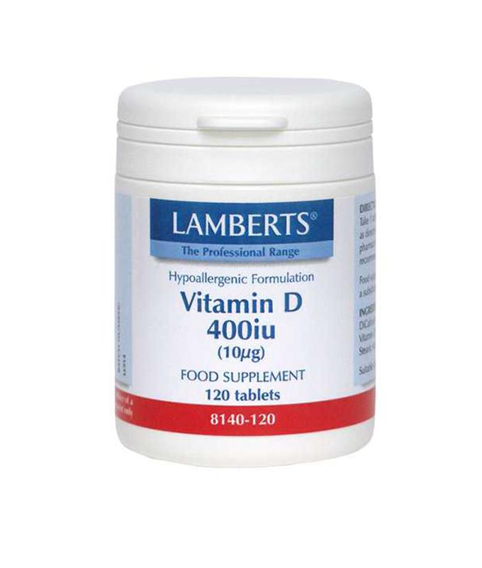 LAMBERTS VITAMIN D 400IU 120TAB