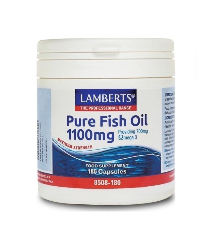 LAMBERTS PURE FISH OIL 1100 MG 180 CAPS