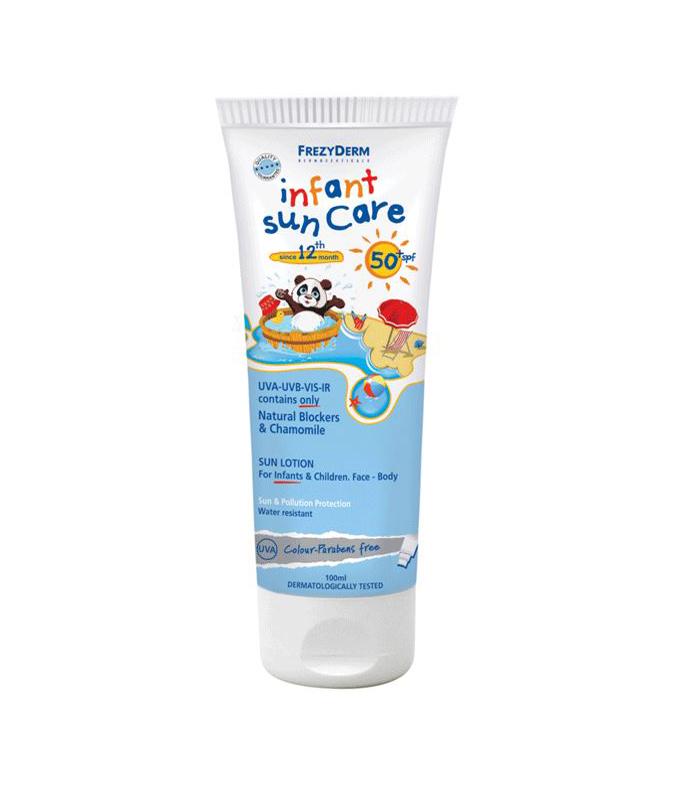 Frezyderm Infant Sun Care SPF 50+ Βρεφική και παιδική ηλιοπροστασία, 100ml