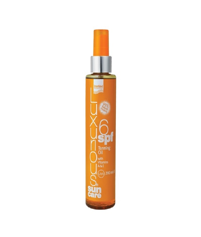 INTERMED Luxurious Sun Care Tanning Oil SPF6 with Vitamins A+E 200ml