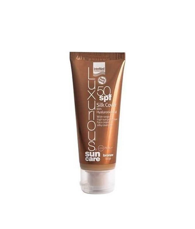 INTERMED Luxurious Sun Care Silk Cover Bronze Beige SPF50 75ml