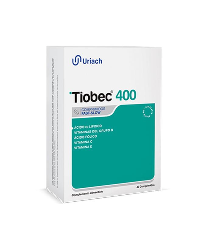 TIOBEC 400MG OLVOS