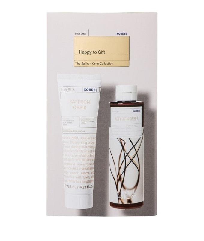Korres Promo Saffron Orris Body Milk Γαλάκτωμα Σώματος 125ml & Saffron Orris Showergel Αφρόλουτρο 250ml