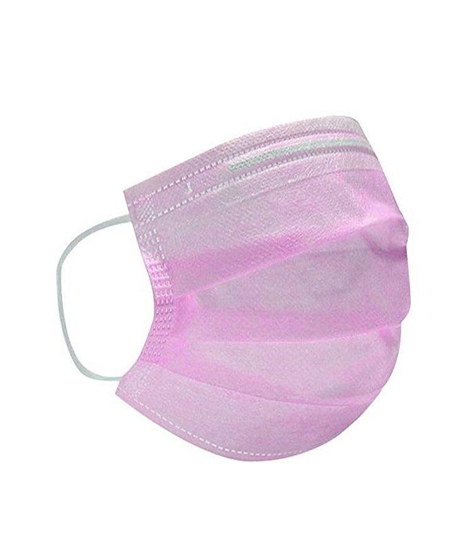 Προστατευτικές μάσκες μιας χρήσεως ροζ, 10 pcs