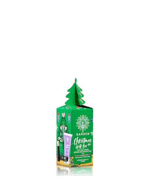 Garden Christmas Gift Box No4 Lip Care Vanilla & Kρέμα Χεριών Πλούσιας Υφής 30ml