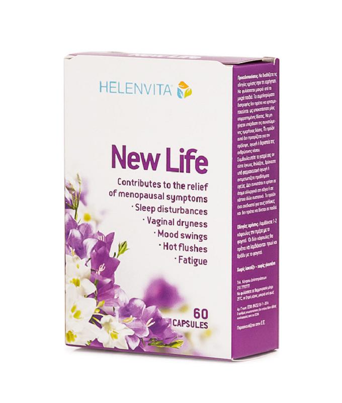 HELENVITA New Life Συμπλήρωμα για Εμμηνόπαυση 60caps
