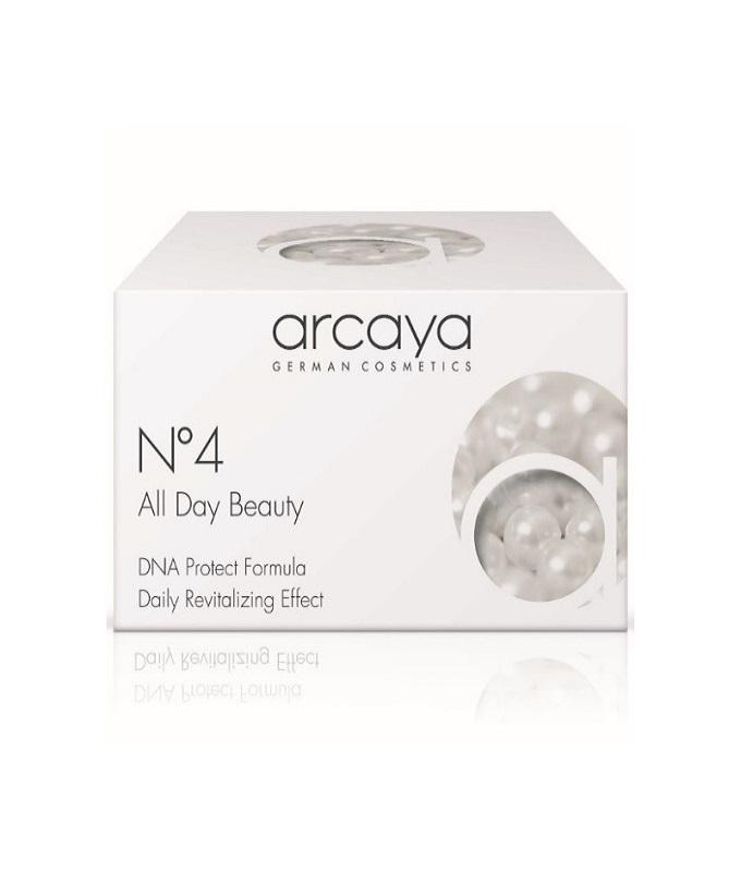 Arcaya No4 All Day Beauty spf15 Αντιγηραντική Κρέμα Ημέρας για το Πρόσωπο, 100ml