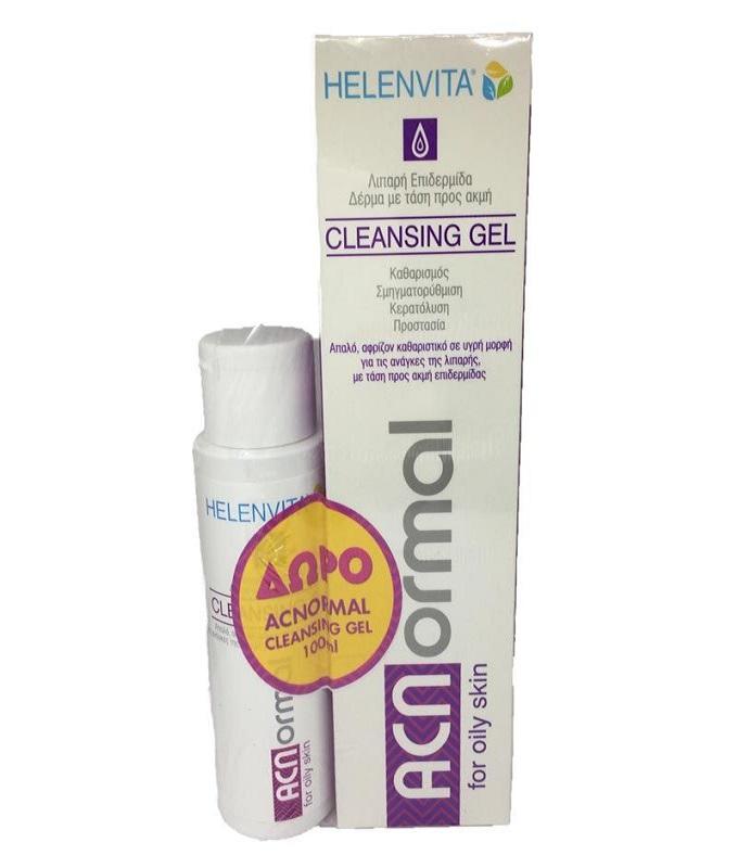 HELENVITA ACNormal Cleansing Gel 200ml + ΔΩΡΟ Επιπλέον 100ml