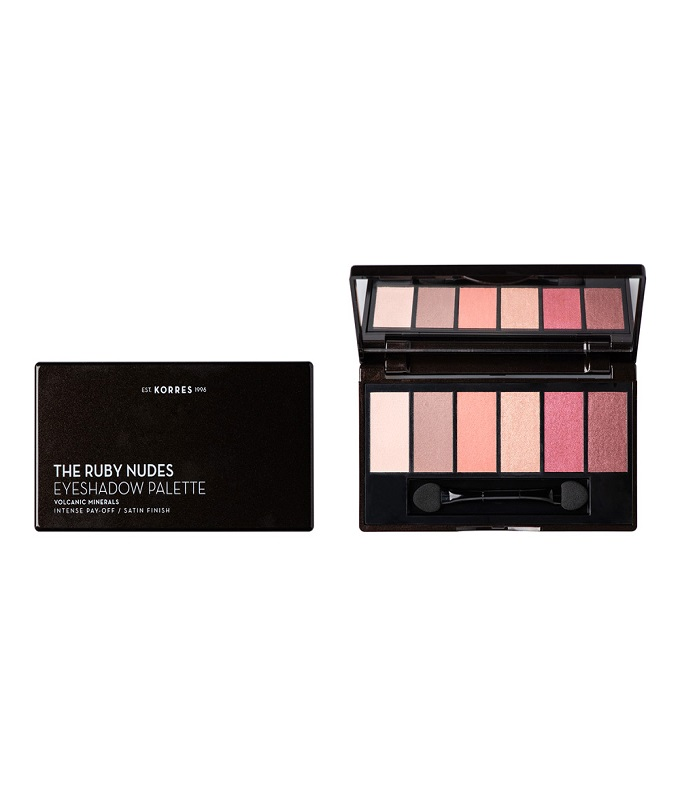"""KORRES VOLCANIC MINERALS EYESHADOW PALETTE """"THE RUBY NUDES"""""""