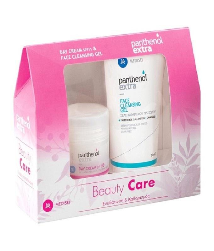 Panthenol Extra Beauty Care Set Με Ενυδάτωση Και Καθαρισμό