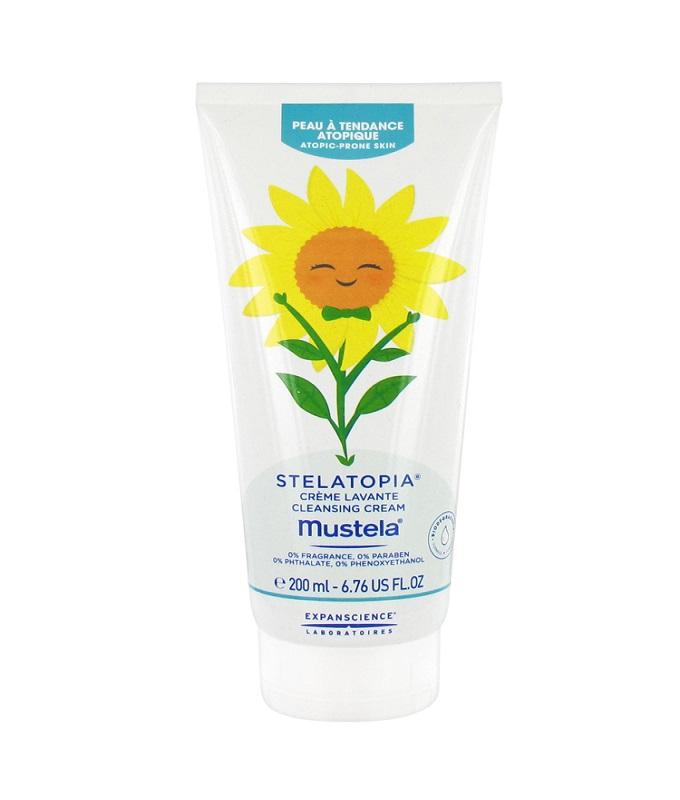Mustela Stelatopia Limited Edition Cleansing Cream Κρέμα Καθαρισμού Προσώπου & Σώματος για Ατοπικό Δέρμα, 200ml