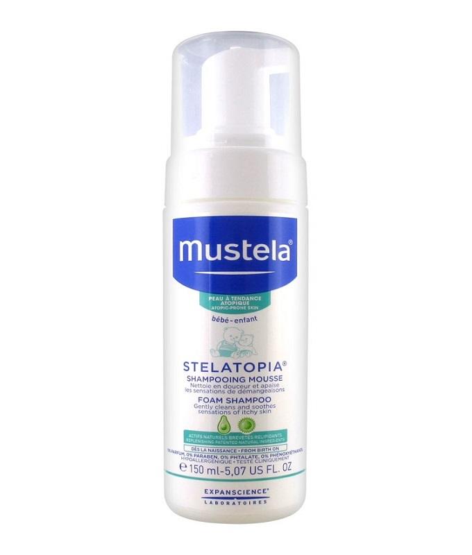 Mustela STELATOPIA Foam Shampoo Σαμπουάν σε μορφή Aφρού, 150ml
