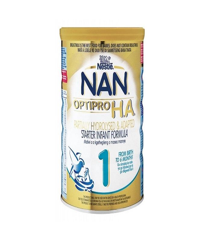 Nestle Nan HA 1 Αντιαλλεργικό Γάλα για Βρέφη από τη Γέννηση, 400 gr