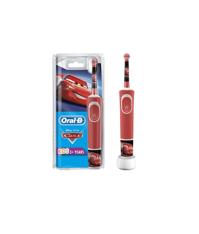 Oral-b Vitality Kids Ηλεκτρική Οδοντόβουρτσα Cars για Παιδιά 3+