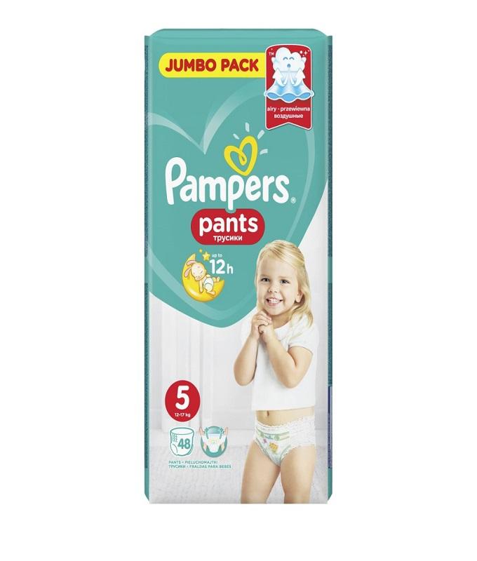 PAMPERS PANTS ΜΕΓ 5 JUMBO, 48ΤΕΜ