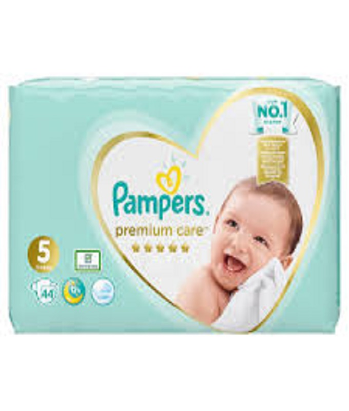 PAMPERS PREMIUM CARE N5 44TMX
