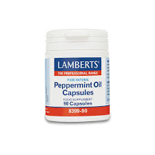 LAMBERTS PEPPERMINT OIL 100MG 90CAPS