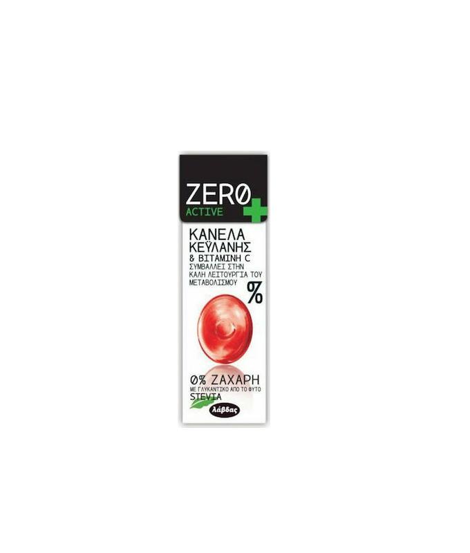 Zero Active Καραμέλες με Κανέλα Κεϋλανης & Βιταμίνη C 32gr